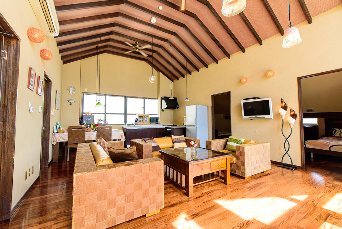 エルソルタウン沖縄 Premium 3bed room アジアンスイート
