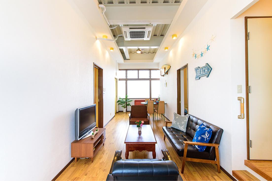 エルソルタウン沖縄 Standard 3bed room アメリカンモダン